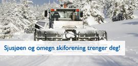 Sjusjøen og omegn skiforrening trenger deg!