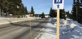 Gangveien fra Rømåsen til Gråten har lav prioritet.